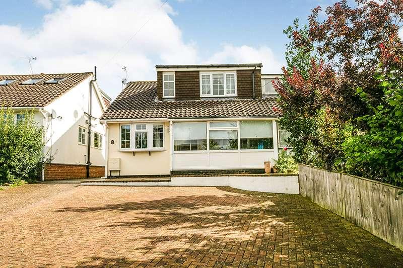 3 Bedrooms Semi Detached Bungalow for sale in Castlefields, Istead Rise, Kent, DA13