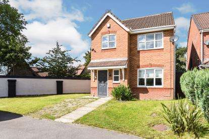 3 Bedrooms Detached House for sale in Howardian Close, Copthorn Park, Oldham, Greater Manchester
