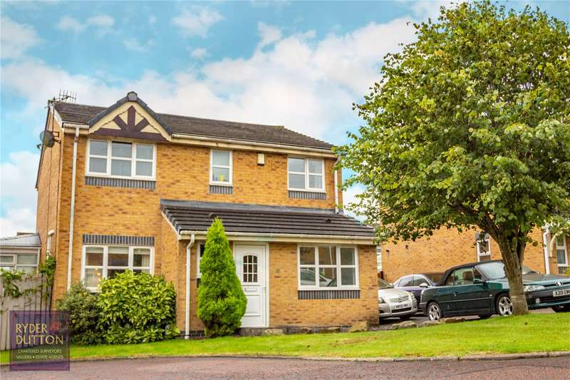 4 Bedrooms Detached House for sale in Doals Gate, Weir, Bacup, OL13