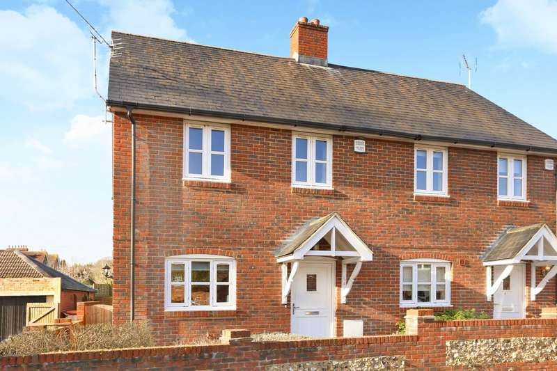 2 Bedrooms Semi Detached House for sale in Sussex Close, Hursley, Winchester, SO21