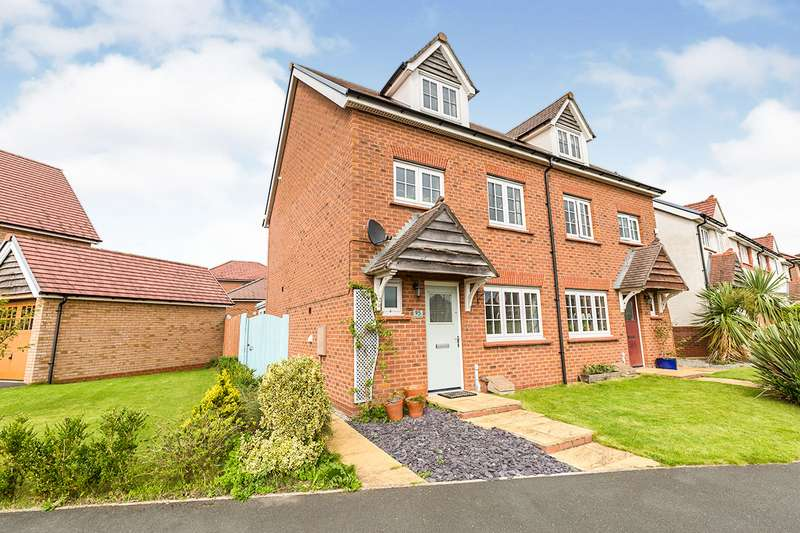 4 Bedrooms Semi Detached House for sale in Main Street, Buckshaw Village, Chorley, Lancashire, PR7