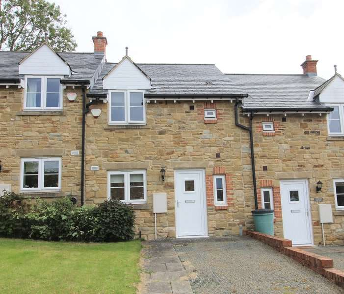 2 Bedrooms Terraced House for sale in Crawley Dene, Alnwick, Northumberland, NE66