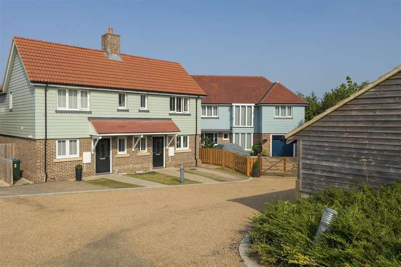 3 Bedrooms Semi Detached House for sale in Orchard Gate, Berkeley Close, Boughton-under-Blean