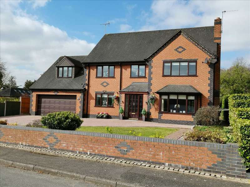 5 Bedrooms Detached House for sale in Cherry Tree, Bedcroft, Barlaston, Stoke-on-Trent