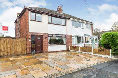 3 Bedrooms Semi Detached House for sale in Hillpark Avenue, Hoghton, Preston, Lancashire