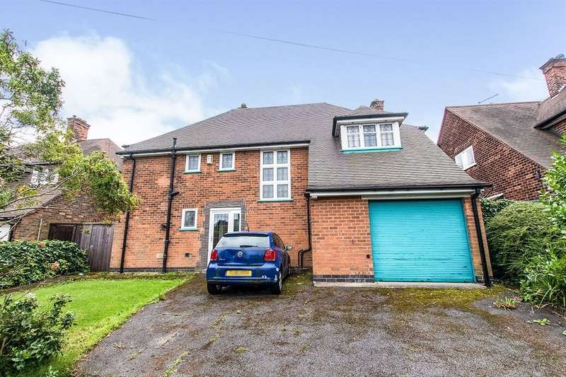 4 Bedrooms Detached House for sale in Sutton Passeys Crescent, Nottingham, NG8