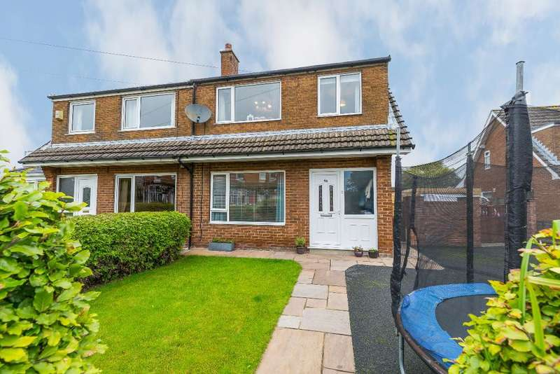 3 Bedrooms Semi Detached House for sale in Moss Lane, Garstang, Preston, Lancashire, PR3 1HB