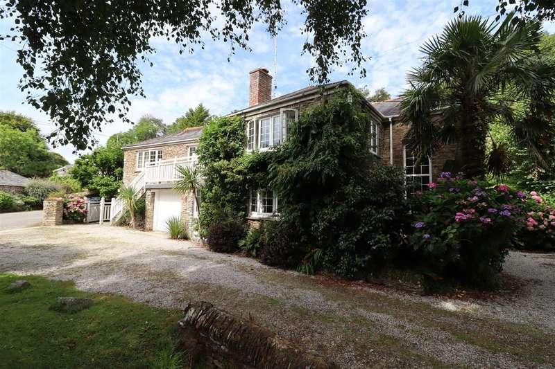 4 Bedrooms Detached House for sale in Ruanlanihorne, Ruan High Lanes