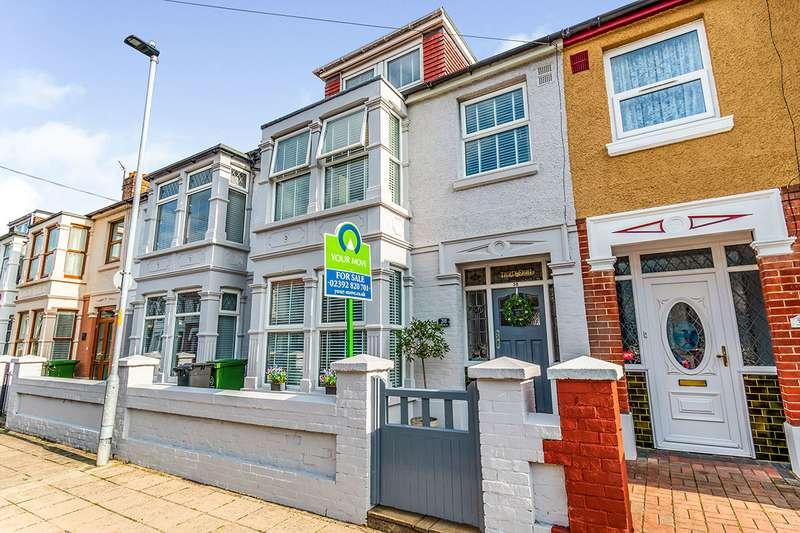 4 Bedrooms House for sale in Ebery Grove, Portsmouth, Hampshire, PO3
