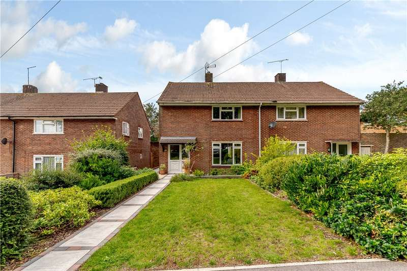3 Bedrooms Semi Detached House for sale in Fromond Road, Winchester, Hampshire, SO22