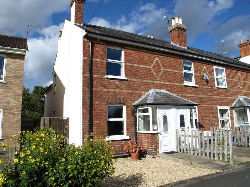 3 Bedrooms End Of Terrace House for sale in Cross Street, Farnborough, GU14