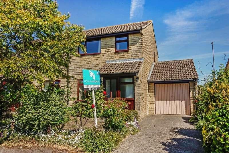 3 Bedrooms Semi Detached House for sale in Stonedene, Sherborne, Dorset, DT9 4EJ