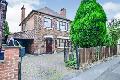 3 Bedrooms Detached House for sale in Mabel Avenue, Sutton-In-Ashfield, Nottinghamshire, Notts