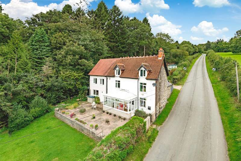 4 Bedrooms Detached House for sale in Bwlch-y-Ffridd, Newtown, Powys, SY16 3HX