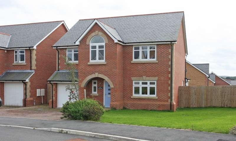 4 Bedrooms Detached House for sale in Gwel Y Llan, Caernarfon, Gwynedd, LL55
