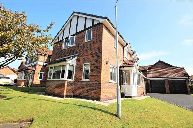 3 Bedrooms Detached House for sale in Redwood, Westhoughton