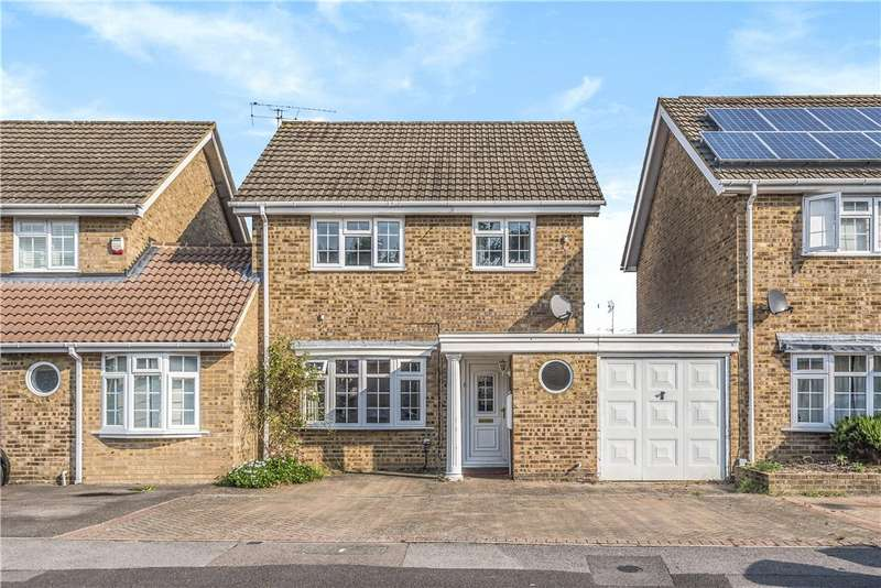 3 Bedrooms Link Detached House for sale in Hardy Avenue, Yateley, Hampshire, GU46