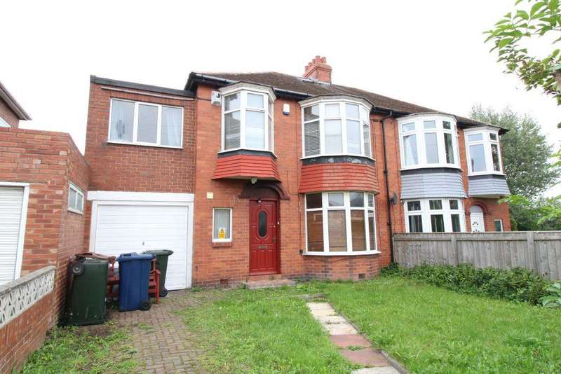 5 Bedrooms Semi Detached House for sale in Mountfield Gardens, Kenton, Newcastle Upon Tyne