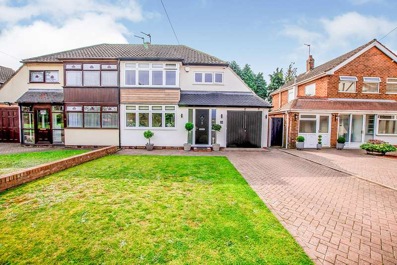 3 Bedrooms Semi Detached House for sale in Mere Close, Willenhall, West Midlands, WV12