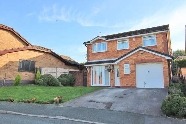 5 Bedrooms Detached House for sale in Kingsbury Court, Skelmersdale, Lancashire, WN8 6XW