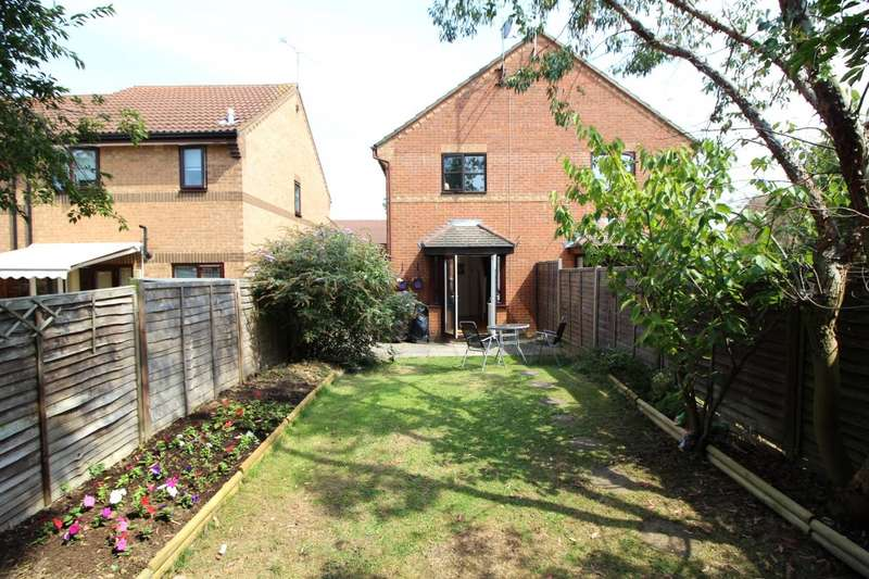 2 Bedrooms House for sale in Jasmine Close, Bedford, Bedfordshire, MK41