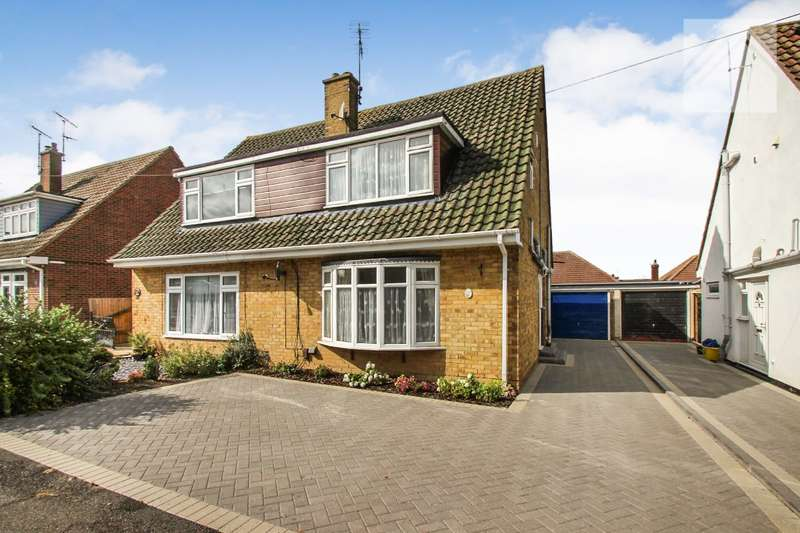 3 Bedrooms Semi Detached House for sale in St. Clements Crescent, Benfleet