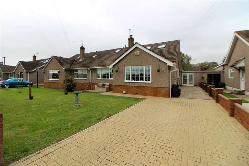 4 Bedrooms Semi Detached House for sale in The Bungalows, Farmfield Lane, Newport