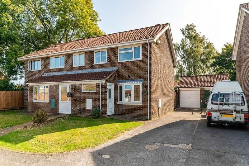 3 Bedrooms Semi Detached House for sale in St. Edmund Close, Titchfield Common, Fareham, Hampshire. PO14 4RQ