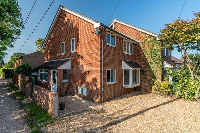 3 Bedrooms Semi Detached House for sale in Priors Hill Lane, Bursledon, Southampton, Hampshire. SO31 8FG