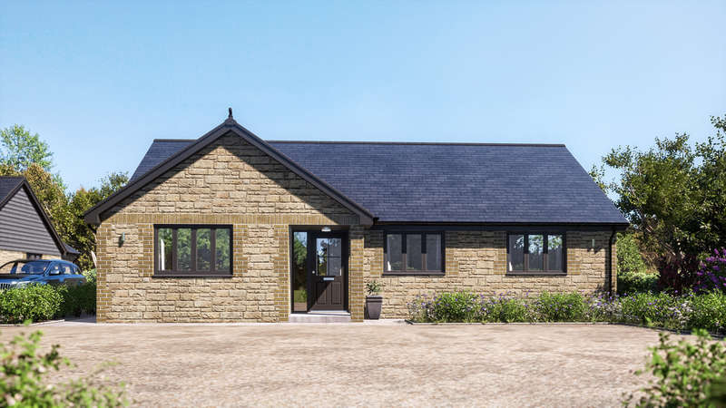 3 Bedrooms Detached Bungalow for sale in Apse Heath, Isle of Wight