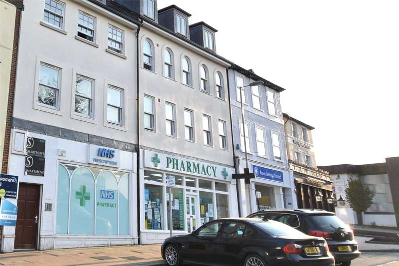 2 Bedrooms Apartment Flat for sale in Park View House, 7 High Street, Aldershot, Hampshire, GU11