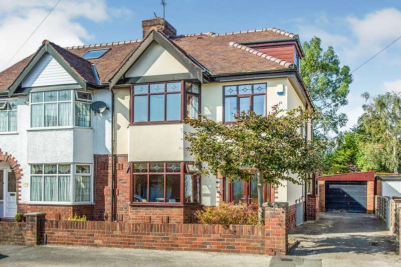 4 Bedrooms Semi Detached House for sale in Princes Drive, Fulwood, Preston, Lancashire, PR2