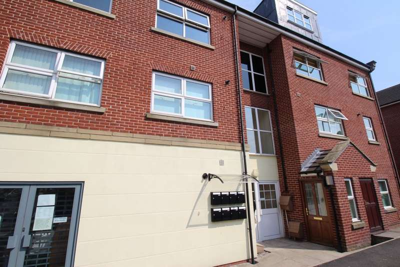 2 Bedrooms Apartment Flat for sale in Queens Court, Wardley Street, Wigan, Greater Manchester, WN5