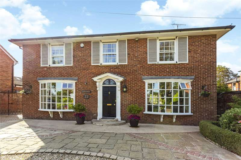 4 Bedrooms Detached House for sale in Eldorado Crescent, Cheltenham, Gloucestershire, GL50
