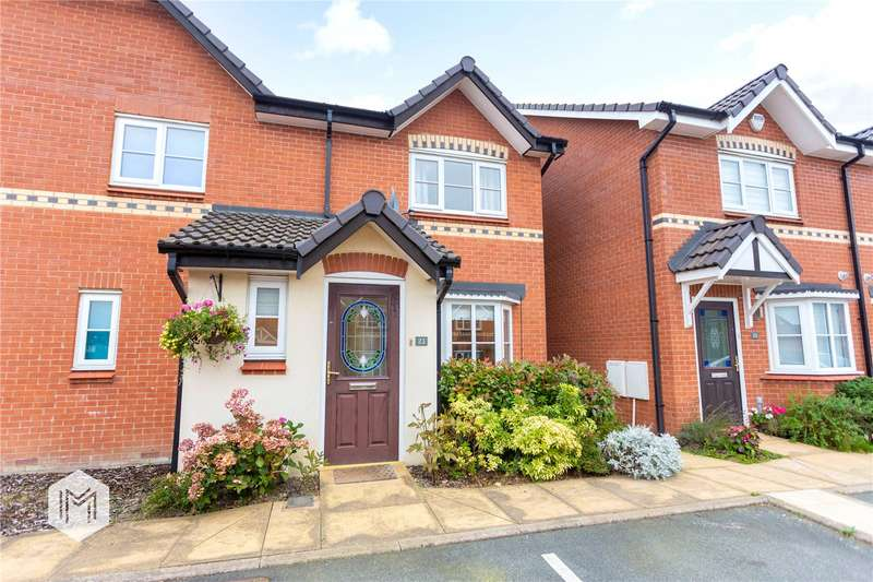 3 Bedrooms Semi Detached House for sale in Napier Drive, Horwich, Bolton, Greater Manchester, BL6