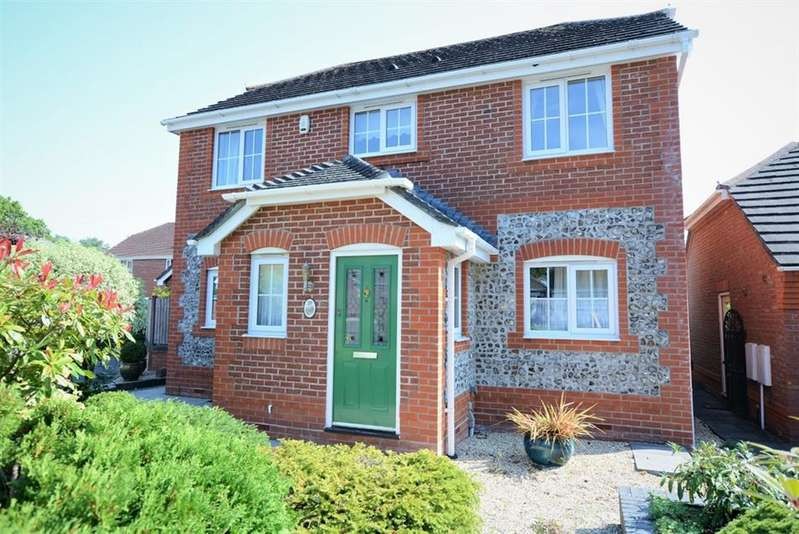 4 Bedrooms Detached House for sale in Starlight Farm Close, Verwood