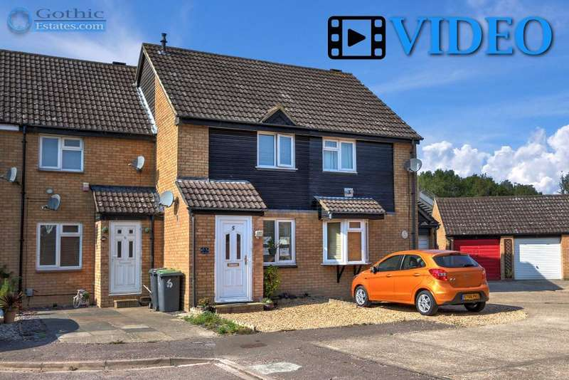 2 Bedrooms Terraced House for sale in Lamb Meadow, Arlesey, SG15 6RY