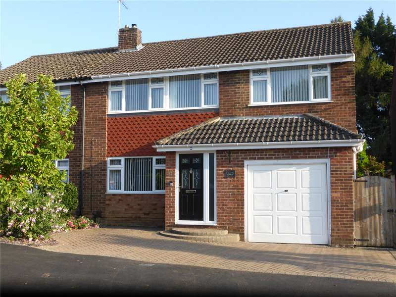 4 Bedrooms Semi Detached House for sale in Morris Way, London Colney, St. Albans, Hertfordshire, AL2
