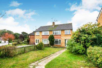 3 Bedrooms Semi Detached House for sale in Aston Rise, Hitchin, Herts, England