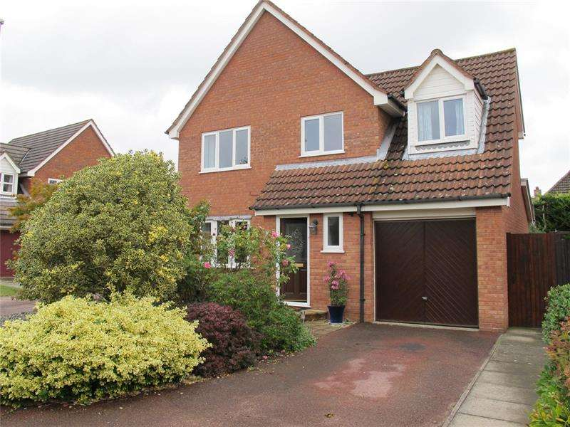 4 Bedrooms Detached House for sale in Gatcombe Gardens, Fareham, Hampshire, PO14
