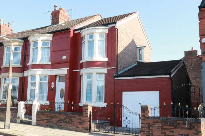 4 Bedrooms End Of Terrace House for sale in Haggerston Road, Liverpool, Merseyside, L4