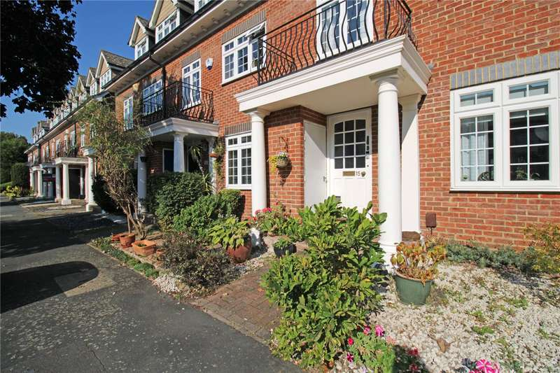 3 Bedrooms Terraced House for sale in Millpond Court, Addlestone, Surrey, KT15