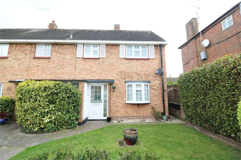 2 Bedrooms End Of Terrace House for sale in Whitefields Road, Cheshunt, Waltham Cross, Hertfordshire