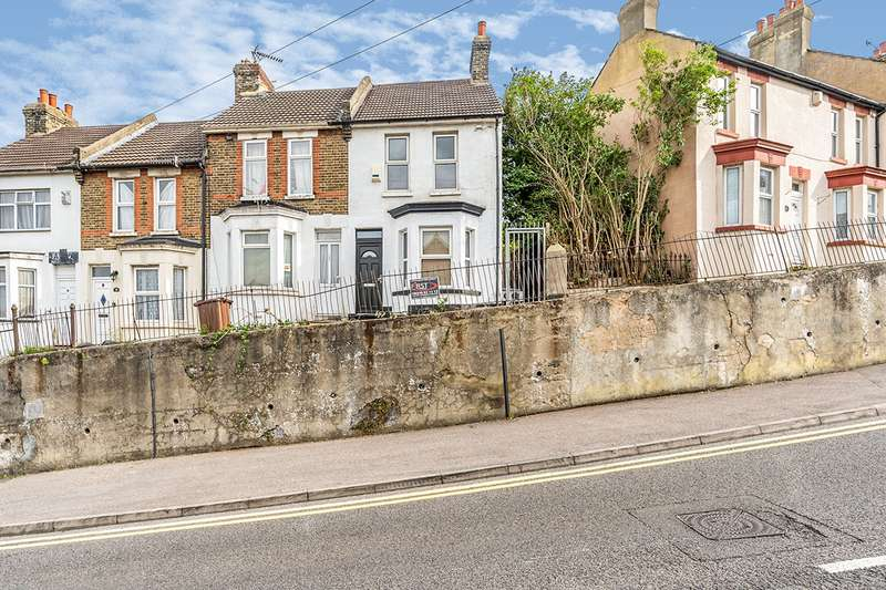 2 Bedrooms End Of Terrace House for sale in Magpie Hall Road, Chatham, Kent, ME4