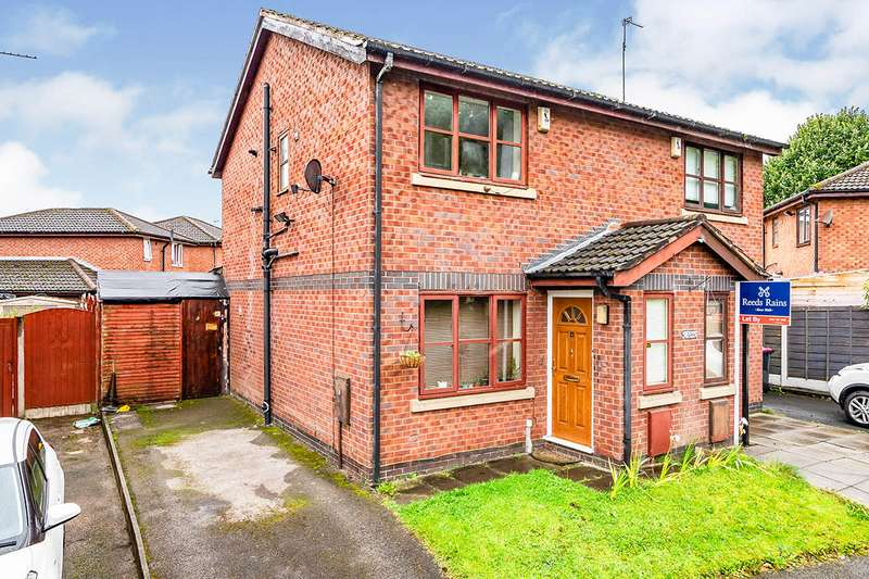 2 Bedrooms Semi Detached House for sale in Kersal Way, Salford, Greater Manchester, M7