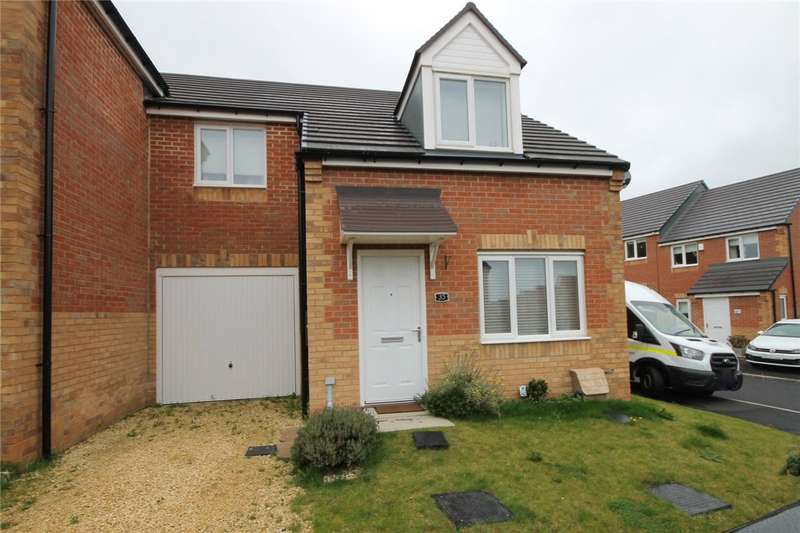 3 Bedrooms Semi Detached House for sale in Dewhirst Close, Leadgate, Consett, DH8