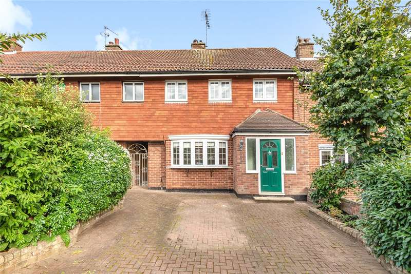 4 Bedrooms Terraced House for sale in Dulwich Way, Croxley Green, Rickmansworth, WD3