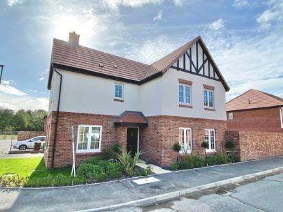 4 Bedrooms Detached House for sale in Badger Vale, Wollaton, Nottingham, Nottinghamshire
