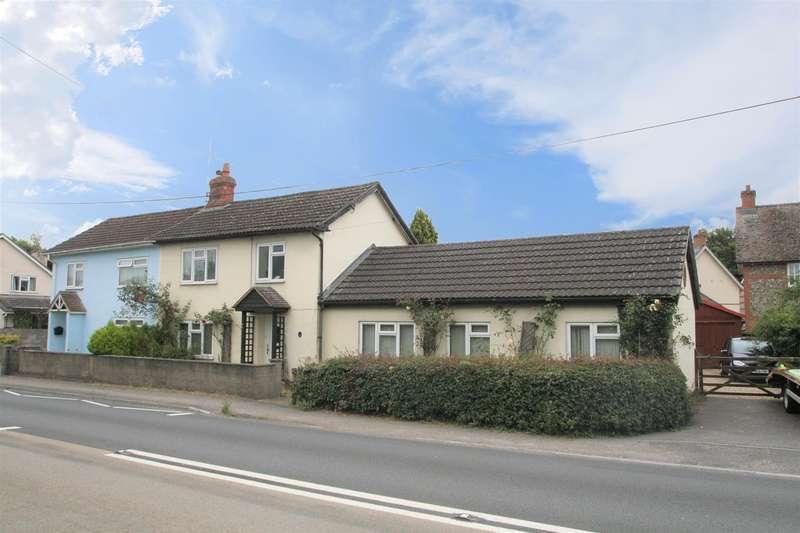 3 Bedrooms Semi Detached House for rent in High Street, Winterbourne Stoke, Salisbury