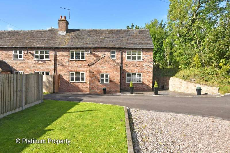 4 Bedrooms Semi Detached House for sale in Cecilly Brook, Oakamoor Road, Cheadle, ST10 1BP